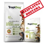 TROPIDOG PREMIUM LIGHT  ALL BREEDS  12 + 2,5 kg