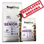 TROPIDOG PREMIUM  SENIOR ALL BREEDS  12 + 2,5 kg