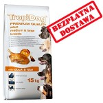 TROPIDOG PREMIUM ADULT MEDIUM & LARGE BREEDS - DUCK & RICE 12kg