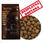 TROPIDOG SUPER PREMIUM ADULT M & L BREEDS LAMB & RICE 15 kg